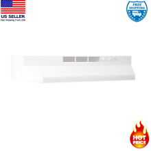 STOVE RANGE HOOD Cooking Kitchen Under Cabinet Filter Light Vent Cook Fan 30