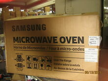 SAMSUNG ME16K3000AS Microwave Oven Over The Range NEW