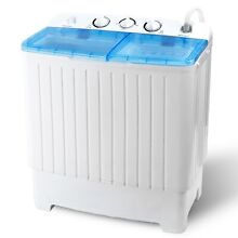 17 6lbs Twin Tub Washer Eco Friendly Washing Machine Top Load Home Appliance