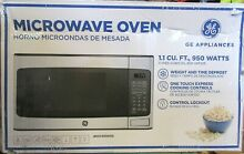 Countertop Microwave Oven GE 1 1 cu  ft  Stainless Dorm Kitchen Appliance
