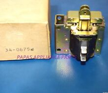 NEW GENUINE MAYTAG 34 0675  34 0315 COMMERCIAL WASHER 115 VOLT BRAKE SOLENOID