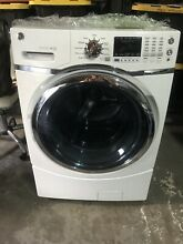 GE Front Load Washer   Gas Dryer  White  2 Separate Units