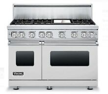 Viking Professional 7 Series VGR7486GSS 48 Inch Pro Style Gas Range 6 Burners