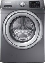 Samsung Wf42h5200 Front Load Washer Gray used for 1 year Excellent Cond