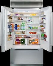 Sub Zero BI 42UFD S TH 42 In Built in French Door Refrigerator Stainless