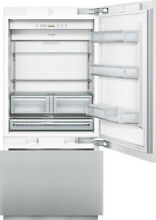 Thermador Freedom Collection T36IB800SP 36  Built in Bottom Freezer Refrigerator
