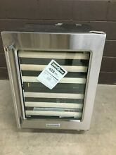 KitchenAid   24  Undercounter Wine Storage Refrigerator Stainless KUWR204ESB