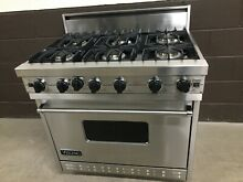 Viking 36  Range VGIC3676BSS Professional 6 Burner All Gas Stainless Steel