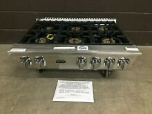 Viking Range Top 36  VGRT7366BSS    6 burner   7 Series Stainless Steel
