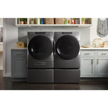 Whirlpool Front Loader Chrome Shadow Washer   Dryer With Pedestals