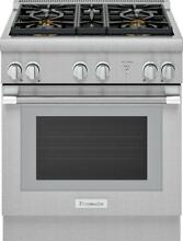 Thermador 30  SS Pro Harmony Gas Range PRG305WH