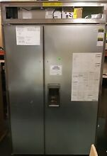 Sub Zero BI 48SD O 48 Inch Built in Side by Side Refrigerator With 28 3 cu  ft