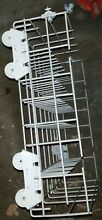 WHIRLPOOL DISHWASHER LOWER RACK ASSEMBLY W  WHEELS Part  WPW10199800
