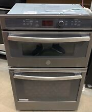 GE Profile Series 27 Inch Slate Built In Combination Convection Microwave
