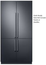 Dacor DRF427500AP Modernist 42  French Door Refrigerator Panel Ready Triple Cool
