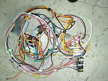 RCA Electric Stove range oven flat glass top wiring harness control switch