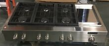 Jenn Air JGCP548WP Stainless Steel 48 Inch Pro Style Gas Cooktop With Griddle