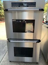 Dacor 27  SS Stainless Steel Double Convection Wall Oven Model  ECS227SBK