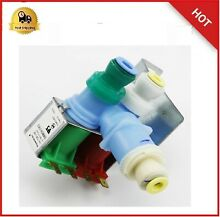 Ice Maker Water Valve Whirlpool Kenmore Coldspot Kitchenaid Superba Refrigerator