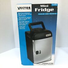 Vector Hot Cold Mini Refrigerator Home Boat Rv Tested AC DC Converter Included