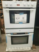 Bosch 30 Inch Double Oven New Old Stock Open Box White Pick Up Only