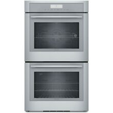 Thermador 30  SS Masterpiece Deluxe Double Wall Oven MED302WS
