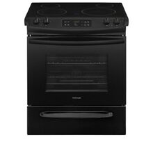 Frigidaire FFES3026TB 30  Slide In  Electric Range   BLACK  Brand New ADA