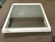 Kenmore LG Refrigerator Crisper Drawer Cover Fruits Vege OEM   ACQ74897303