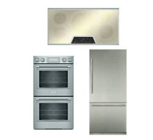 Thermador Masterpiece Package Of Cooktop   Double Oven  Dishwasher  Refrigerator