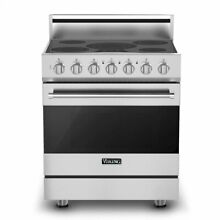 30  Self Cleaning Electric Range Viking RVER33015BSS