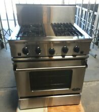 DCS RG 304 Natural Gas 4 Burner Stove Oven Fisher Paykel