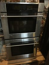 Ge Monogram ZET3058SH2SS Double Oven Electric