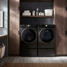 Samsung Smart Stackable Front Load Washer   Stackable Gas Dryer