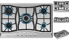 Empava 30  Stainless Steel 5 Italy Sabaf Burners Stove Top Gas Cooktop 30 Inch