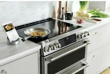 NEW CHS950P Cafe 30  Slide In Double Oven Induction Range chs950p2ms1