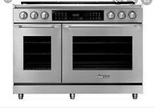 Dacor HDER48S C NG 48  Heritage Dual Fuel Epicure Range Stainless