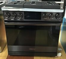 Dacor Contemporary DOP36M96GLM 36 Inch Smart Pro Gas Range 6 Burner Freestanding