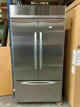 KitchenAid 42  KBFC42FTS Built In French Door Refrigerator with Ice Maker