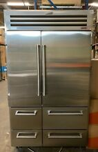 Sub Zero 648PROG 48 Inch Built in Side by Side Refrigerator with Glass Door