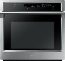 Samsung NV51K6650SS 30 In Wall Oven with Capacity  Steam Cook Stainless