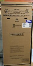 Sub Zero BI 36UG O Refrigerator Freezer with Glass Door   Panel Ready