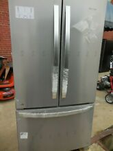 Whirlpool WRF540CWHZ 36  Stainless French Door Refrigerator NOB