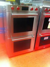 30  Wolf Double Wall Oven M Series DO30PMSPH  Used