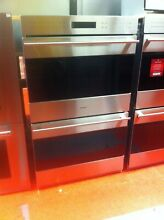 30  Wolf E Series Double Wall Oven DO30TESTH  Used