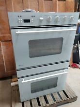 GE 30  Monogram Electric Combo Wall Oven Model ZET857WYWW Serial ZS6023268