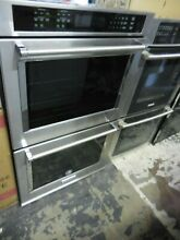 Kitchenaid KODE500ESS 30 in  Double Electric Wall Oven Self Cleaning with Convec