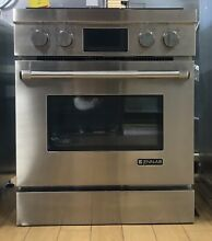 Jenn Air 30  Pro Style Stainless Steel 4 Burners Gas Range   JGRP430WP