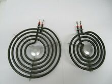GE Hotpoint RCA Range Stove 8  AND 4  Burner Element WB30T10078 WB30T10033