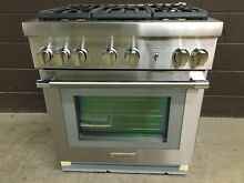 Thermador PRD305WHU   30  Dual Fuel Range   5 Burners Stainless Pro Harmony