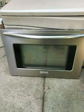 Frigidair oven range parts Mod  PLES389EC1 SS oven door with Glass and handle